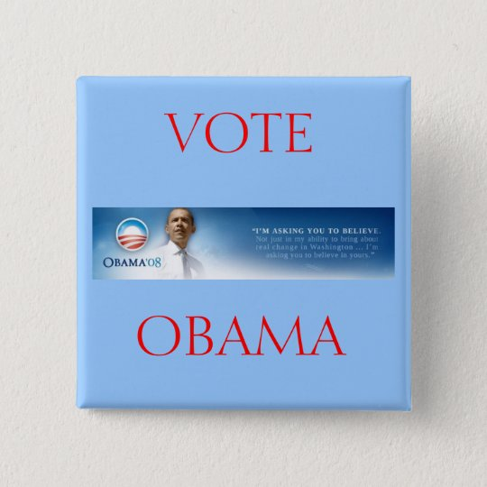 Barack OBAMA - Believe Button