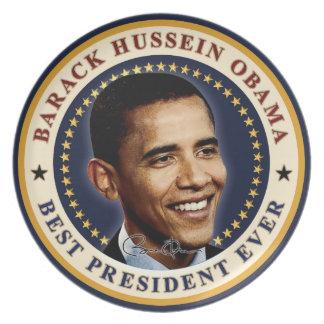 Barack Obama - Best President Ever Party Plate