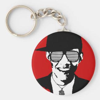 Barack Obama Bling Keychain