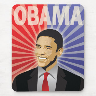 Barack Obama Bold Mouse Pad