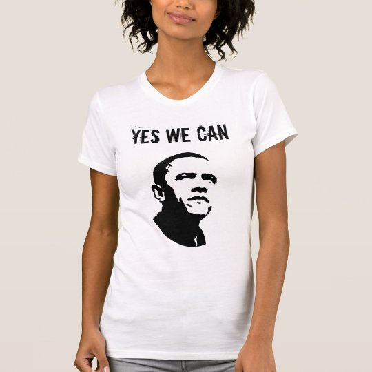 Barack Obama (Both sides) - Customised T-Shirt