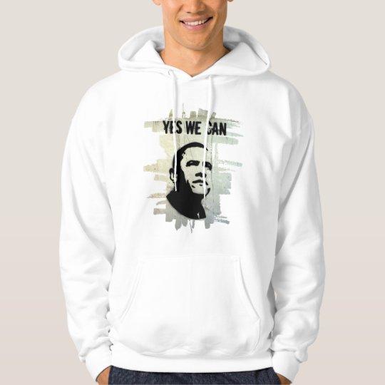 Barack Obama (Both sides) hood Hoodie
