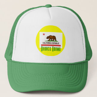 Barack Obama CA Flag Hat