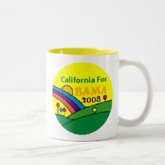 Barack Obama California Rainbow Two-Tone Mug