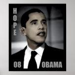 Barack Obama Campaign for Hope Poster