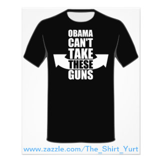 Barack Obama Can't Take These Guns 11.5 Cm X 14 Cm Flyer