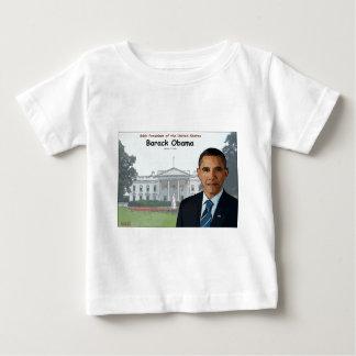 Barack Obama Cartoon Baby T-Shirt