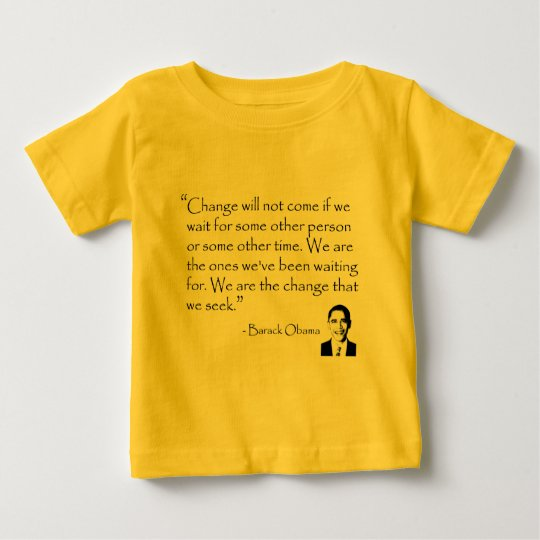 Barack Obama - CHANGE merchandise Baby T-Shirt