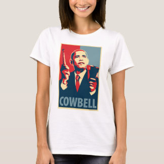 Barack Obama - Cowbell: OHP Ladies Top
