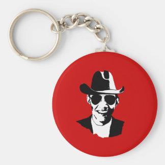 Barack Obama cowboy gear Keychains