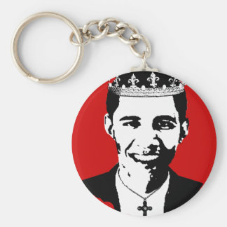 Barack Obama Crown and Cross Key Chain