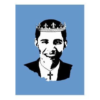 Barack Obama Crown and Cross Postcards