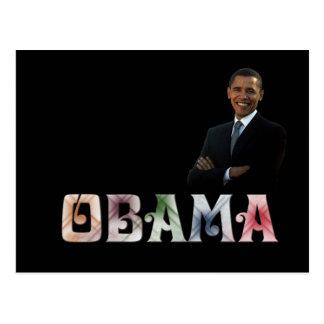 Barack Obama Design Postcard