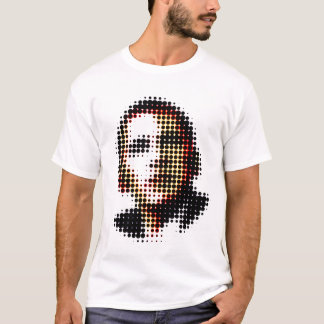 Barack Obama Dots and Circles - Optical Illusion T-Shirt