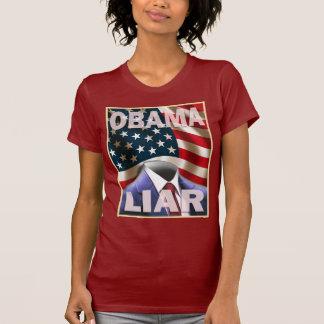 Barack Obama - Empty Suite of Lies T-Shirt