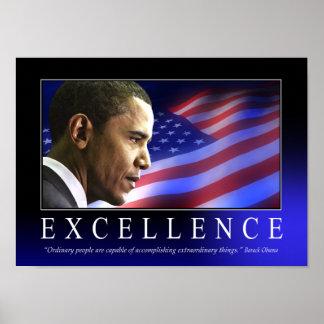 Barack Obama Excellence Poster
