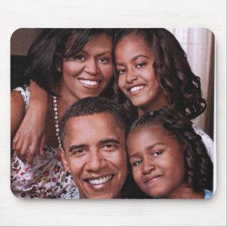 Barack Obama & Family_Mousepad Mouse Mat