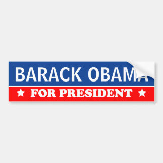 Barack Obama For President 2016 Bumper Sticker