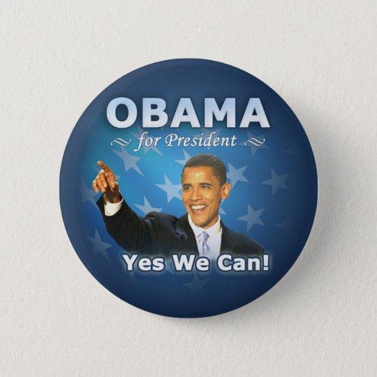 Barack Obama for president 6 Cm Round Badge