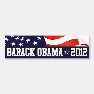 Barack Obama for President  in 2012 Bumper Sticker