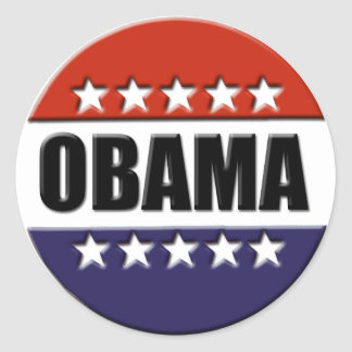 Barack Obama for President Stickers