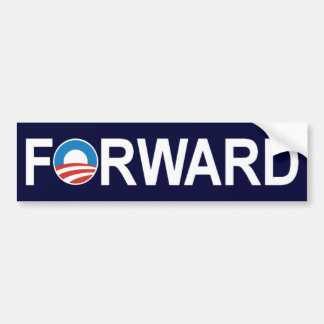 Barack Obama 'Forward' Bumper Sticker