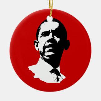Barack Obama Gbw Round Ceramic Decoration