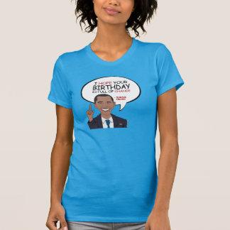 Barack Obama Greeting - Happy Birthday Tee Shirts