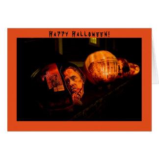 Barack Obama Halloween - Greeting Card