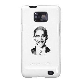 Barack Obama Head Faded.png Galaxy SII Case