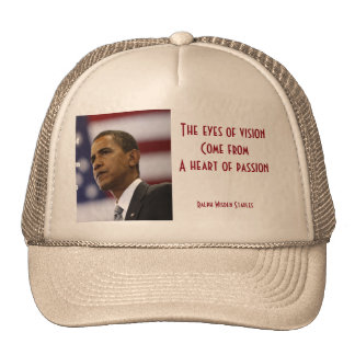 Barack Obama heart of passion Cap