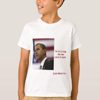 Barack Obama heart of passion T-shirt