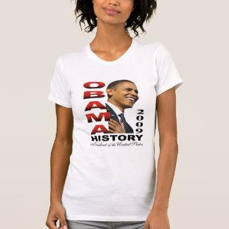 Barack Obama History camisole Tee Shirts