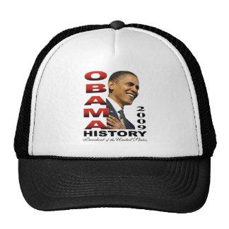 Barack Obama History tshirt Trucker Hats
