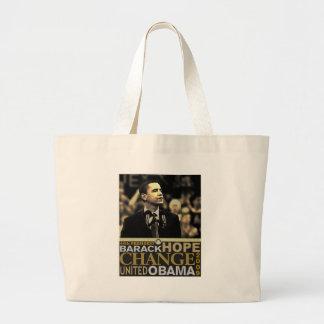 Barack Obama Hope Tote Bag