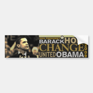 Barack Obama Hope Bumper Sticker