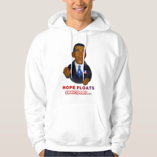 Barack Obama Hope Floats Rubber Duck Hoodie