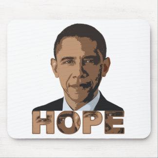 Barack Obama HOPE Mousepad