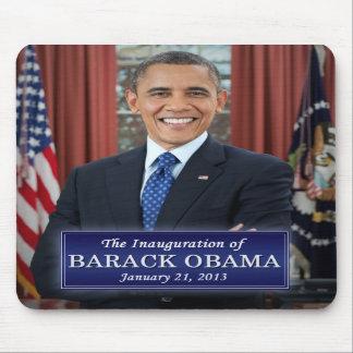 Barack Obama Inauguration 2013 Mouse Pads