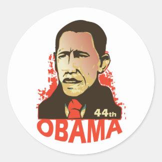 Barack Obama - inauguration Classic Round Sticker