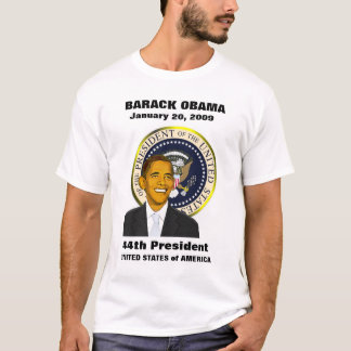 Barack Obama Inauguration Day Childrens T-shirt