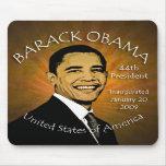 Barack Obama Inaugurtion Grunge Mousepad