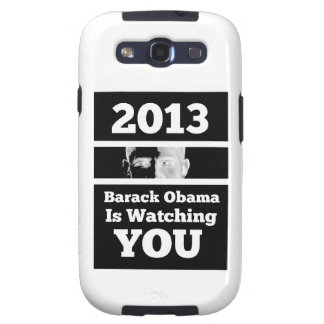 Barack Obama is Watching You Big Brother Parody Galaxy SIII Cases