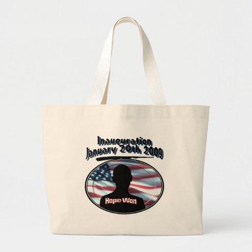 Barack Obama January 20th 2009 Inauguration Tote Bag