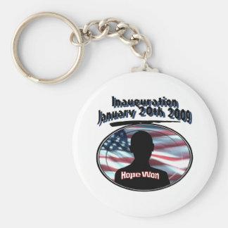 Barack Obama January 20th 2009 Inauguration Keychain