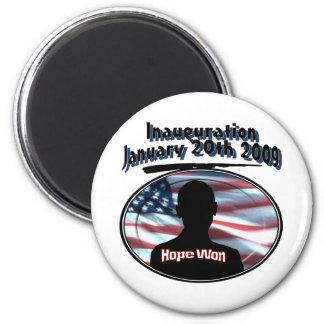 Barack Obama January 20th 2009 Inauguration Fridge Magnets