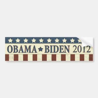 Barack Obama Joe Biden 2012 Bumper Sticker