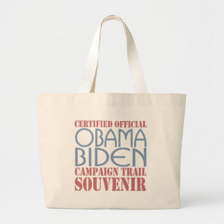 Barack Obama Joe Biden Souvenir Tote Bags