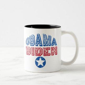 Barack Obama Joe Biden Two-Tone Coffee Mug