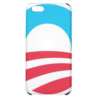 Barack Obama Large O Logo Blue w Color iPhone Case For iPhone 5C